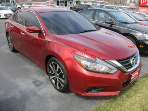 2016 Nissan Altima for sale at GENOA MOTORS INC in Genoa IL
