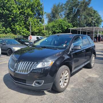 2015 Lincoln MKX for sale at America Auto Wholesale Inc in Miami FL