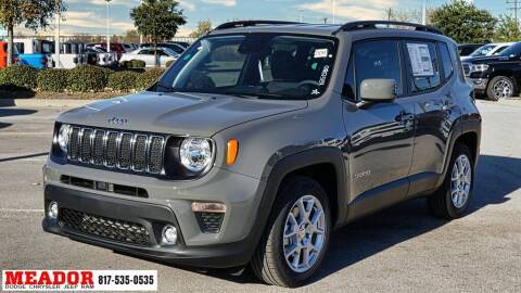 2021 Jeep Renegade for sale at Meador Dodge Chrysler Jeep RAM in Fort Worth TX