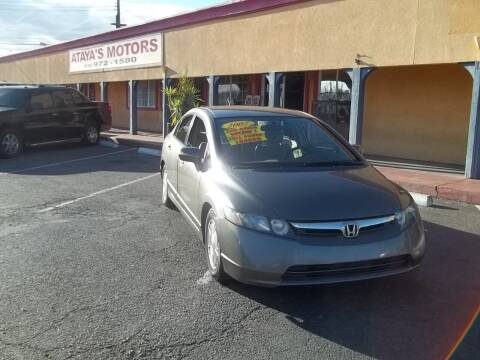 2007 Honda Civic for sale at Atayas Motors INC #1 in Sacramento CA