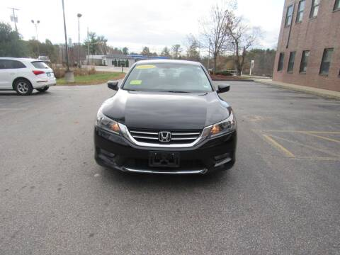 2015 Honda Accord for sale at Heritage Truck and Auto Inc. in Londonderry NH