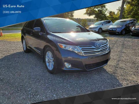 2012 Toyota Venza for sale at US-Euro Auto in Burton OH