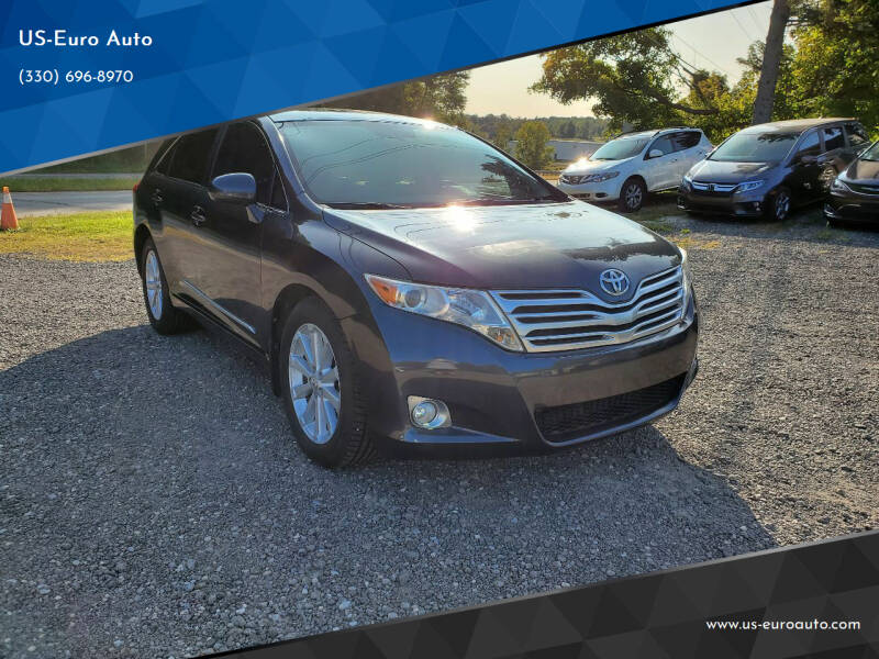 2012 Toyota Venza for sale at US-Euro Auto in Burton OH