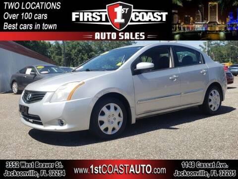 2012 Nissan Sentra for sale at 1st Coast Auto -Cassat Avenue in Jacksonville FL
