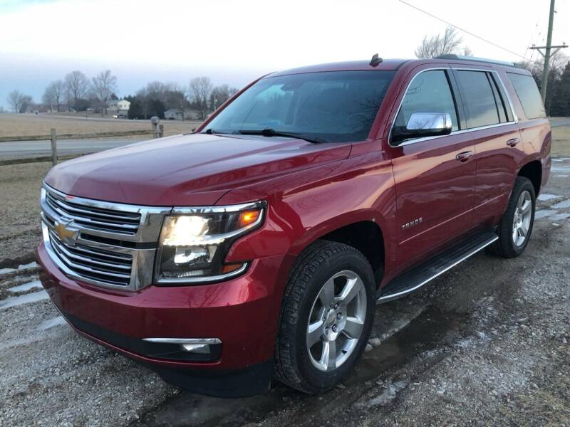 2015 Chevrolet Tahoe for sale at AutoWorx Sales in Columbia City IN