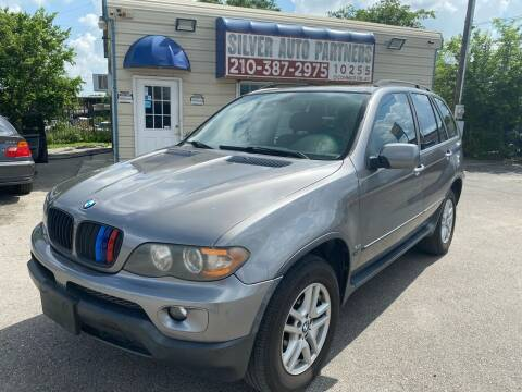 2004 BMW X5 for sale at Silver Auto Partners in San Antonio TX