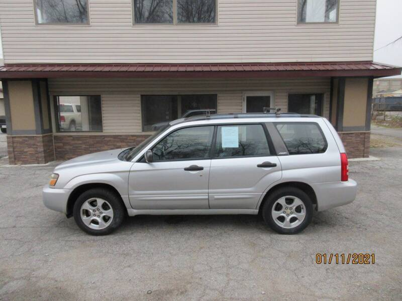 2003 Subaru Forester for sale at Settle Auto Sales TAYLOR ST. in Fort Wayne IN