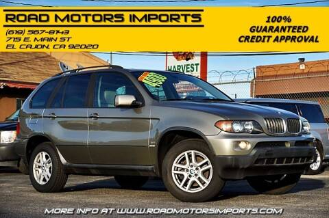 2004 BMW X5 for sale at Road Motors Imports in El Cajon CA