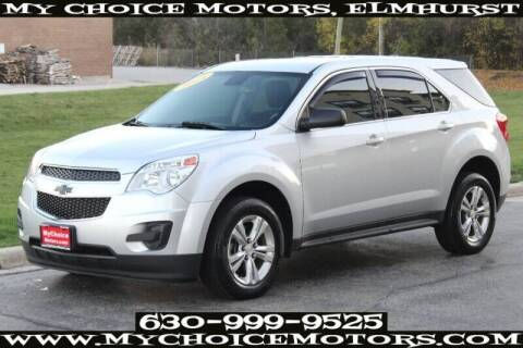 2014 Chevrolet Equinox for sale at My Choice Motors Elmhurst in Elmhurst IL
