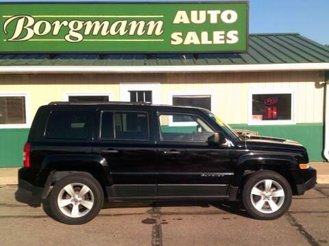 2016 Jeep Patriot for sale at Borgmann Auto Sales in Norfolk NE