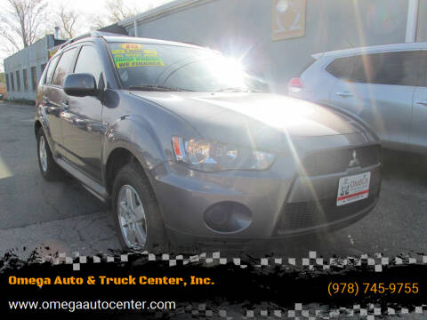 2010 Mitsubishi Outlander for sale at Omega Auto & Truck Center, Inc. in Salem MA