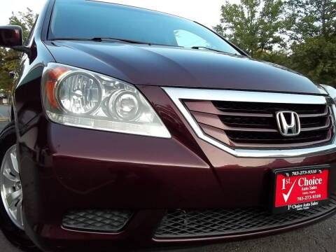 2008 Honda Odyssey for sale at 1st Choice Auto Sales in Fairfax VA