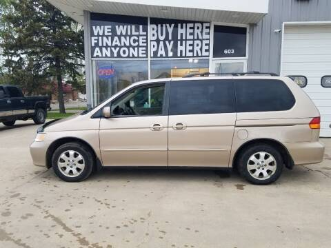 2002 Honda Odyssey for sale at STERLING MOTORS in Watertown SD