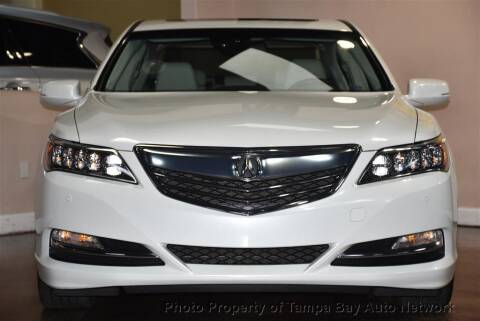2014 Acura RLX for sale at Tampa Bay AutoNetwork in Tampa FL
