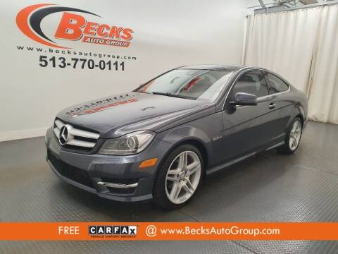 2012 Mercedes-Benz C-Class for sale at Becks Auto Group in Mason OH