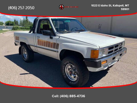 1985 Toyota Tacoma for sale at Auto Solutions in Kalispell MT