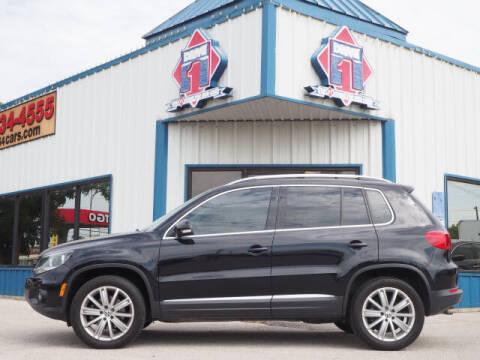 2013 Volkswagen Tiguan for sale at DRIVE 1 OF KILLEEN in Killeen TX