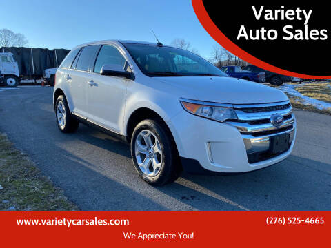 2013 Ford Edge for sale at Variety Auto Sales in Abingdon VA