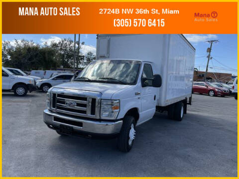 2014 Ford E-Series Chassis for sale at MANA AUTO SALES in Miami FL