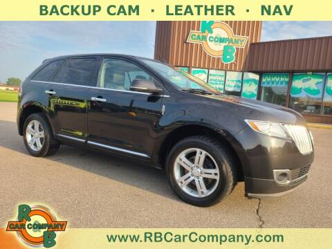 2014 Lincoln MKX for sale at R & B Car Co in Warsaw IN
