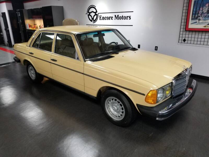 1982 Mercedes-Benz 240-Class for sale at Encore Motors in Macon GA
