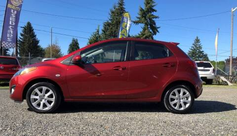 2014 Mazda MAZDA2 for sale at A & V AUTO SALES LLC in Marysville WA