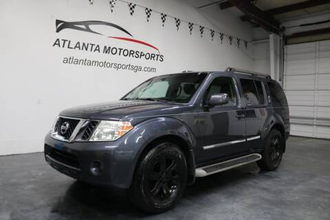 2011 Nissan Pathfinder for sale at Atlanta Motorsports in Roswell GA