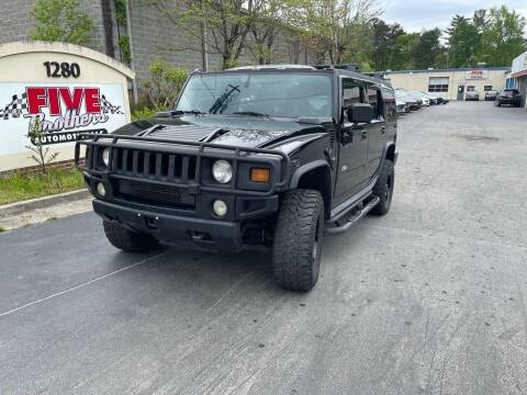 2005 HUMMER H2 for sale at Five Brothers Auto Sales in Roswell GA