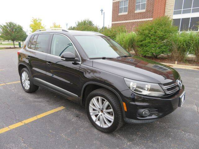 2012 Volkswagen Tiguan for sale at Import Exchange in Mokena IL