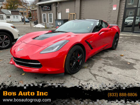 2016 Chevrolet Corvette for sale at Bos Auto Inc in Quincy MA