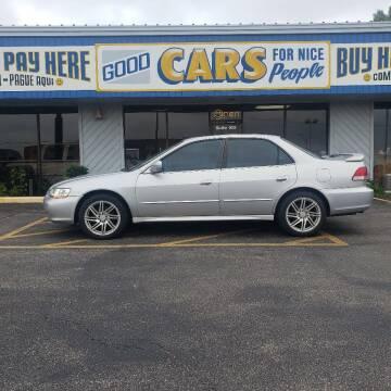 2002 Honda Accord for sale at Good Cars 4 Nice People in Omaha NE