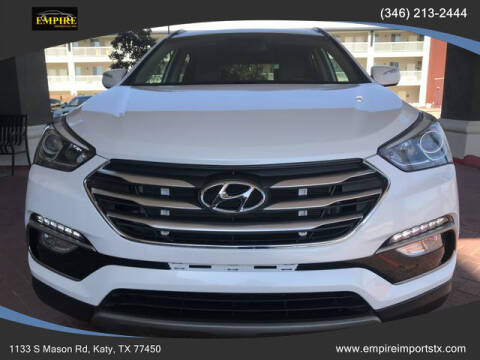 2018 Hyundai Santa Fe Sport for sale at EMPIREIMPORTSTX.COM in Katy TX