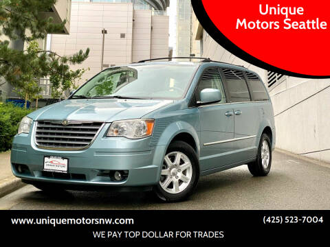 2010 Chrysler Town and Country for sale at Unique Motors Seattle in Bellevue WA