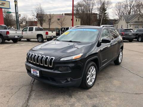 2014 Jeep Cherokee for sale at Bibian Brothers Auto Sales & Service in Joliet IL