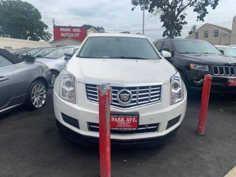 2013 Cadillac SRX for sale at Park Avenue Auto Lot Inc in Linden NJ