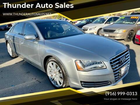 2013 Audi A8 L for sale at Thunder Auto Sales in Sacramento CA
