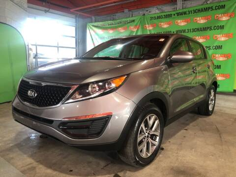 2016 Kia Sportage for sale at Champs Auto Sales in Detroit MI
