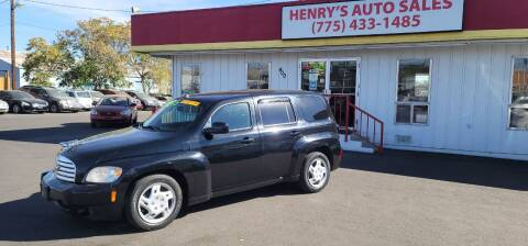 2010 Chevrolet HHR for sale at Henry's Autosales, LLC in Reno NV
