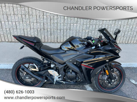 2018 Yamaha YZF-R3 ABS for sale at Chandler Powersports in Chandler AZ