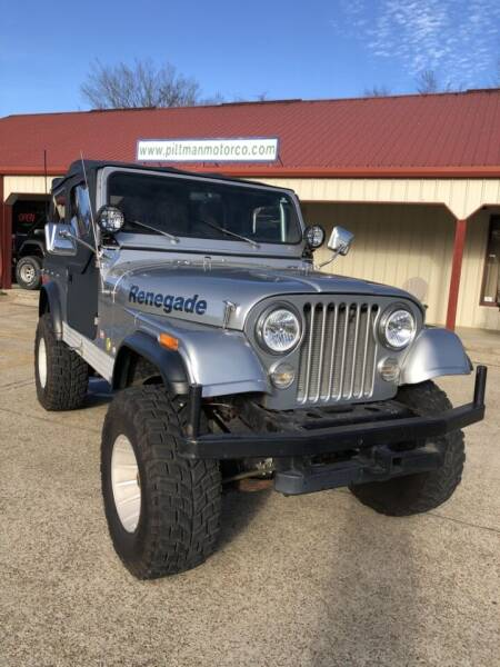 1978 Jeep CJ-7 for sale at PITTMAN MOTOR CO in Lindale TX