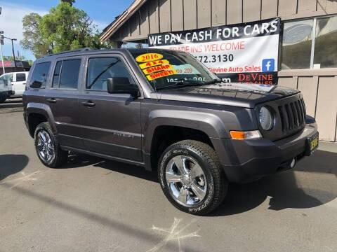 2016 Jeep Patriot for sale at Devine Auto Sales in Modesto CA