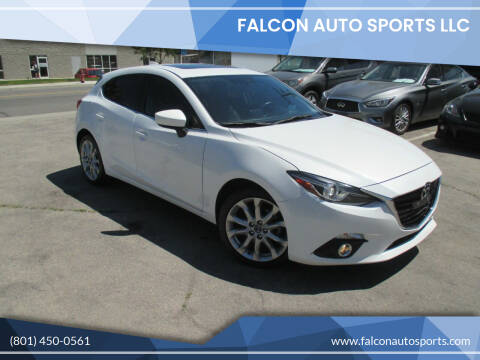 2015 Mazda MAZDA3 for sale at Falcon Auto Sports LLC in Murray UT