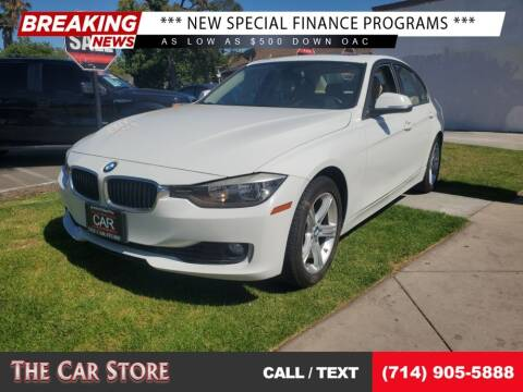 2012 BMW 3 Series for sale at The Car Store in Santa Ana CA