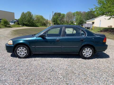 1998 Honda Civic for sale at MEEK MOTORS in North Chesterfield VA