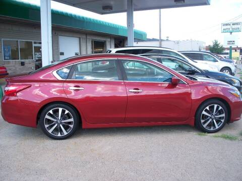 2016 Nissan Altima for sale at North Metro Auto Sales in Cambridge MN