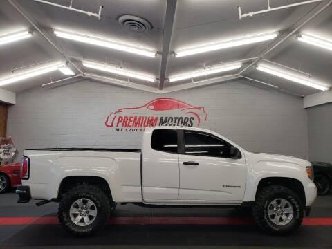 2015 GMC Canyon for sale at Premium Motors in Villa Park IL