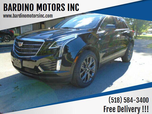 2018 Cadillac XT5 for sale at BARDINO MOTORS INC in Saratoga Springs NY
