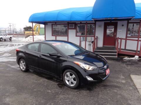 2012 Hyundai Elantra for sale at Jim's Cars by Priced-Rite Auto Sales in Missoula MT