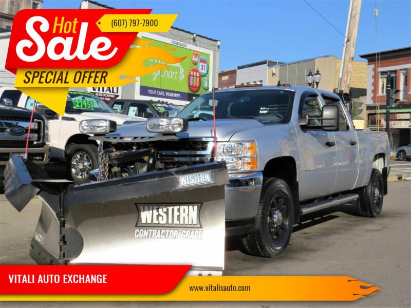 2014 Chevrolet Silverado 3500HD for sale at VITALI AUTO EXCHANGE in Johnson City NY