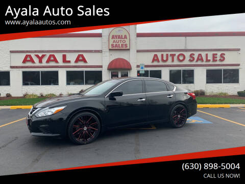 2016 Nissan Altima for sale at Ayala Auto Sales in Aurora IL